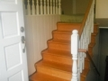 wooden railings vancouver before