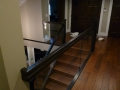 Wood & glass Stair railings Vancouver 2
