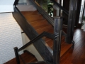 Wood & glass Stair railings Vancouver 3