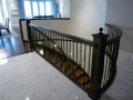 Stair railings Vancouver - curved staircase